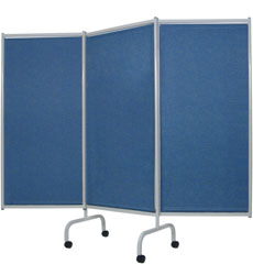 3 Panel Designer Privacy Screen - 317