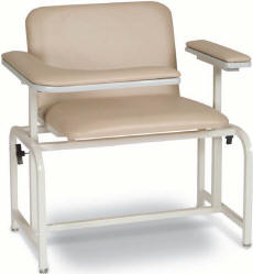 Extra Large Padded Blood Drawing Chair - 2575 XL