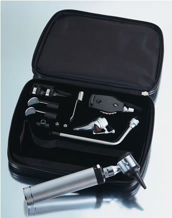 ADC  2.5v Otoscope/Ophthalmoscope Instrument Set