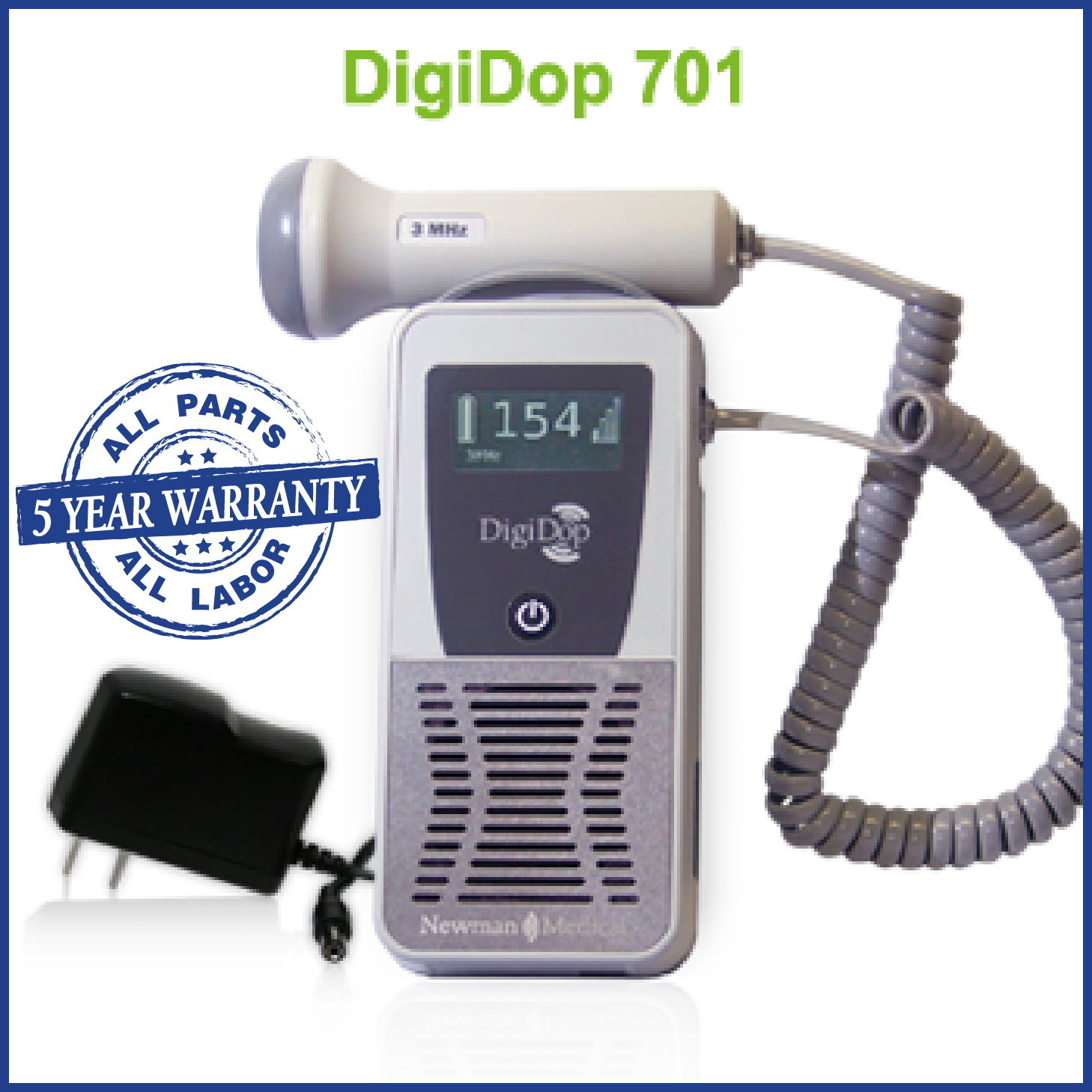 DD-701 Display rechargeable