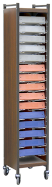 Tall Horizontal Cabinet Chart Rack - 264565