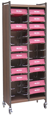 Tall Horizontal Cabinet Chart Rack - 264566
