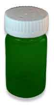 Green Preferred Vials with Child Resistant Caps