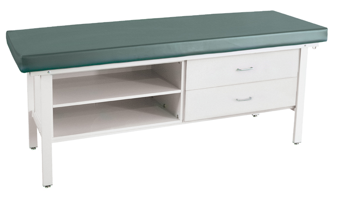 Treatment Table with Cabinet and Drawers - 850CD