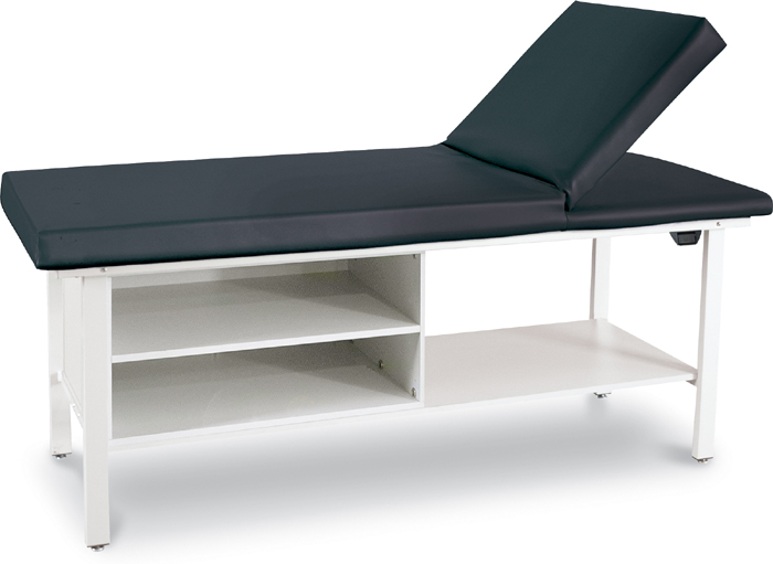 Adjustable Back Treatment Table  with Cabinet - 8570-C1