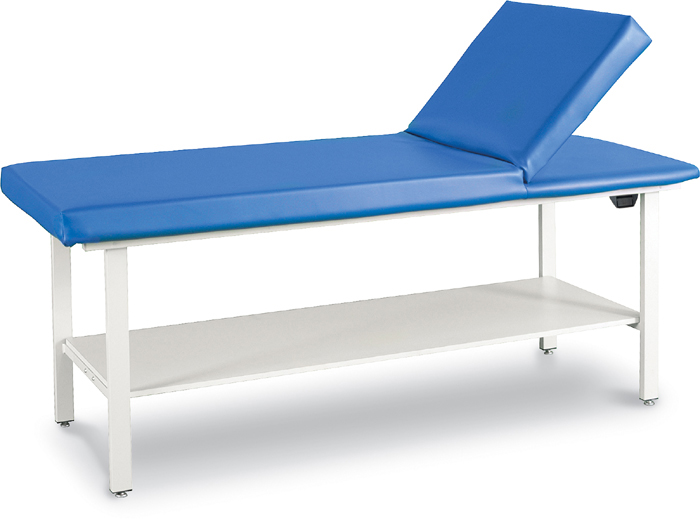 Adjustable Back Treatment Table with Shelf - 8570-SH